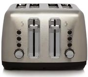 George Home 4 Slice Toaster - Stainless Steel 36%off at Asda Liverpool