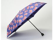 Cat' Navy Bow Print Umbrella