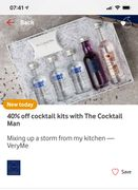 40% off Cocktail Making Kit