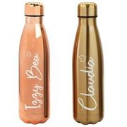 PERSONALISED Metal Drinks Bottle 500ml Insulated Chilly Flask - FREE DELIVERY!