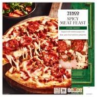 Tesco Fresh Stonebaked Pizza Various Varieties - Half Price