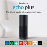 Echo plus (1st Gen) with Built-in Home Hub & Alexa in Black £44.99 save 68%