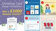Win a £1000 Amazon Voucher Design a Christmas Card! (Freepost entry)