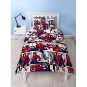 Spiderman Metropolis Single Duvet Set