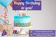 Special Offer - Happy Birthday to You! - Gift Experience - over 850
