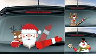 Christmas Car Windshield Wiper Sticker - 4 Designs