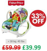 £20 off at AMAZON! Fisher-Price Infant-to-Toddler Rocker