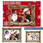 Festive Photo Booth with Props.