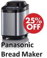 £40 off - Panasonic SD-ZB2502BXC Stainless Steel Bread Maker *4.8 STARS*