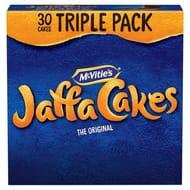 Mcvitie's Jaffa Cakes Triple Pack 30 Cakes - HALF PRICE!