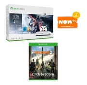 1TB XBOX ONE S with JEDI FALLEN ORDER+THE DIVISION 2 and NOW TV Only £249