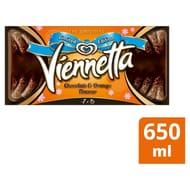 Viennetta Chocolate and Orange Flavour Ice Cream Dessert 650ml - Save £0.63!