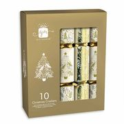 Assorted Christmas Crackers Pack of 10