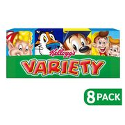 Cheap Kellogg's Variety Pack Cereal 8PK, reduced by £1.2!