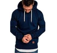 75% off on Men's Winter Hoodie Casual Gym Hooded Sweatshirt