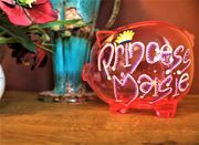 Cheap Hand Painted Personalised Piggy Bank, Only £9.99!