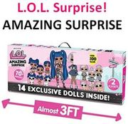 CHEAPEST PRICE! L.O.L. Surprise! Amazing Surprise with 14 Dolls & 70+ Surprises