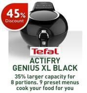 Tefal Actifry Air Fryer, Genius XL (8 Portions) AH960840