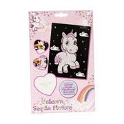 Magical Unicorn Sequin Picture Kit