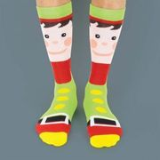 Festive Socks, Choose a Santa, Elf or Snowman Design