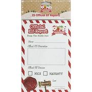 Official Elf Reports - 25 Pack Only £1