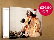 Exclusive! FREE Canvas Print- 30x20cm!