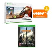 1TB XBOX ONE S with FORZA HORIZON 4+THE DIVISION 2 and NOW TV Only £249
