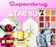 Superdrug Star Buys - Half Price Marc Jacobs & Versace + Revolution Collabs