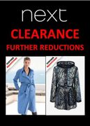 NEXT CLEARANCE - FURTHER REDUCTIONS up to 80% OFF