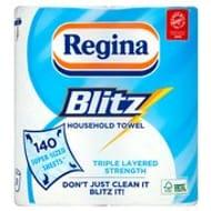 Regina Blitz All Purpose Kitchen Towel 2pack 2 for £4