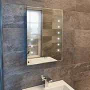 Aquarius 500mm Illuminated LED Mirror Only £29.97 + £5 Postage Appliance Direct