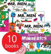 Mr. Men Adventures Collection - 10 Books (Collection)