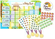 Potty Training Reward Chart with Stickers, Badge and Medals