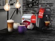 30% off £45 Spend on Drinks with Voucher Code at Tassimo