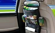 Car Back Seat Organiser with Insulated Pocket & Tissue Holder £4.99 Delivered