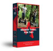 Activity Superstore - Segway Thrill Gift Experience for Two - Half Price.