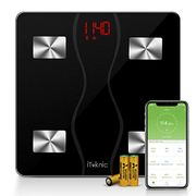iTeknic Body Fat Scales, Bathroom Scales 11 Health Measurements. Weight Monitor
