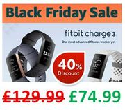 SAVE £55 ! Fitbit Charge 3 (ALL COLOURS)