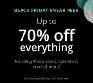 BLACK FRIDAY SNEAK PEEK up to 70% off Calendars & Diaries