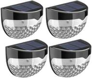 Deal Stack - Solar Fence Lights - £2 off + Lightning Deal