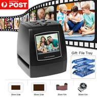 Negative Film Scanner 35mm 135mm Slide Film Converter Photo Digital Image E9G8