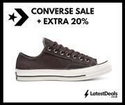 Up to 50% off Sale + 20% off with Code Converse