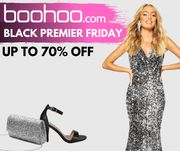 boohoo Black Friday: 30% off EVERYTHING + up to 70% off Sale