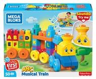 Best Ever Price! Mega Bloks the Alphabet Train 50 Pieces
