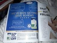 50p off Discreet Normal Sanitary Towels
