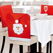 Santa Hat Chair Covers - Available on Prime