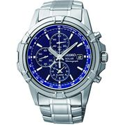 65% off TODAY! Seiko Men's Chronograph Solar Powered Watch