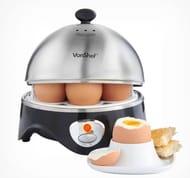 VonShef 7 Egg Boiler with Egg Poaching Bowl Only £9.74