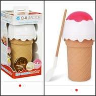 Chill Factor Kids Fun Ice Cream Maker - Vanilla Pink.