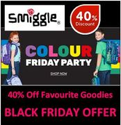 Smiggle BLACK FRIDAY OFFERS - 40% OFF Favourite Goodies & Advent Calendar!
